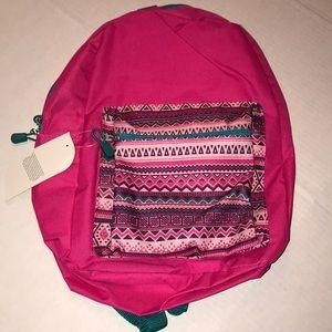✅BACK TO SCHOOL FREE GIFT Aztec Print PinkBackpack